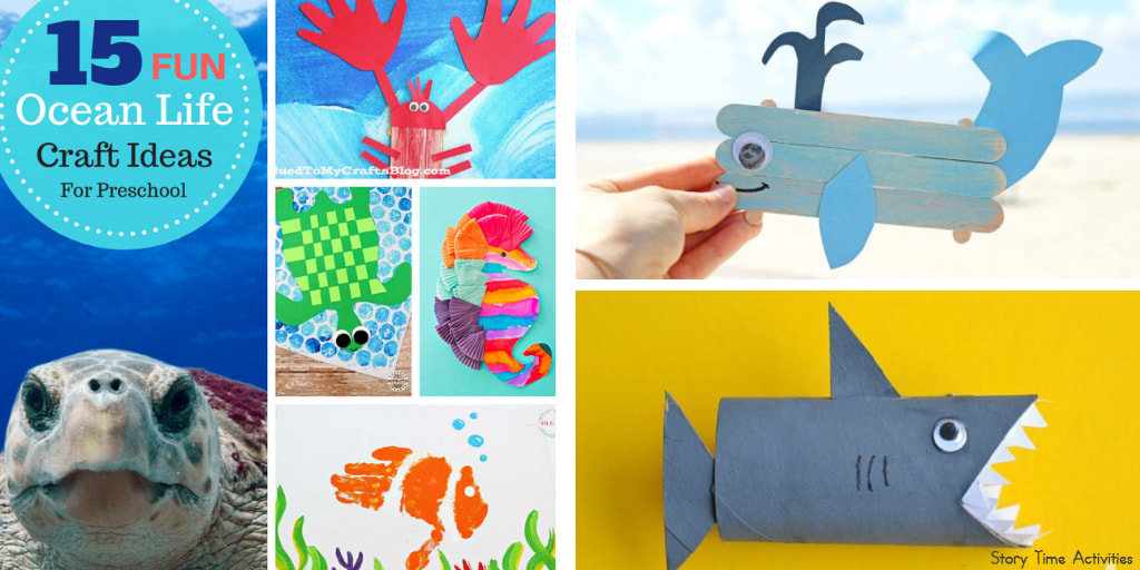 Preschool Ocean Theme Crafts For Your Kids Playtime Felts