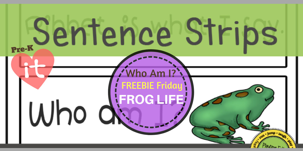image regarding Printable Sentence Strips identified as Frog Lifetime Cycle FREEBIE Friday Printable for Preschoolers