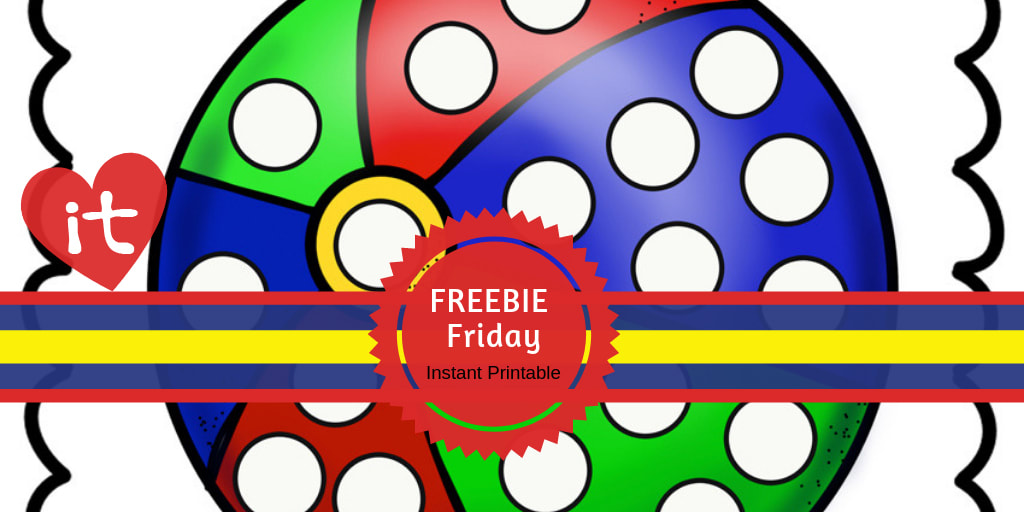 Freebie Friday Instant Preschool Printable  #freeprintable #preschool #iteach #finemotorskills #playtimefelts