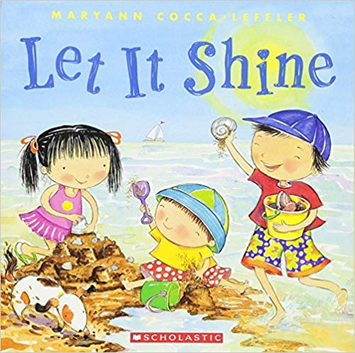 Let It Shine | Adorable Summer Themed Picture Book.  Use with Playtime Felts Story Board Activities ~ Recommended Grade Level Preschool-3rd. #prekbooks #storybooks #preschool #summerbooks #summertheme #iteach #beach #kidsvacation #familyvacation #summeractivities #kidsactivities #prek #playtimefelts
